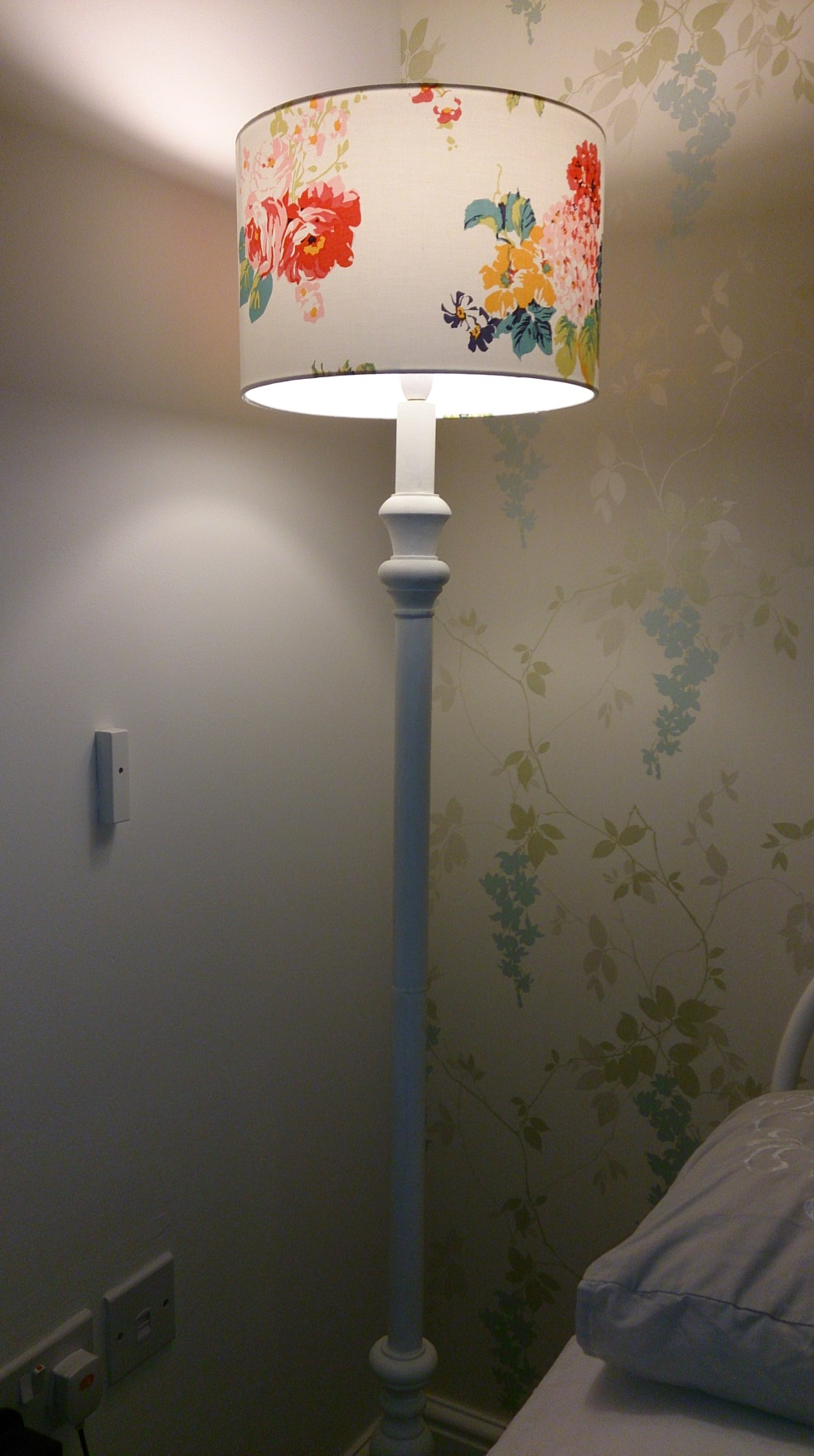 My lamp before
