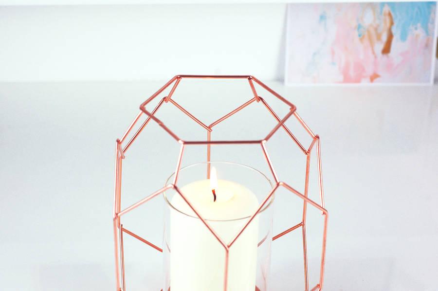original_copper-geometric-candle-holder-lanter