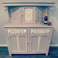 Paloma Grey and Pearl Vintage Sideboard, £375