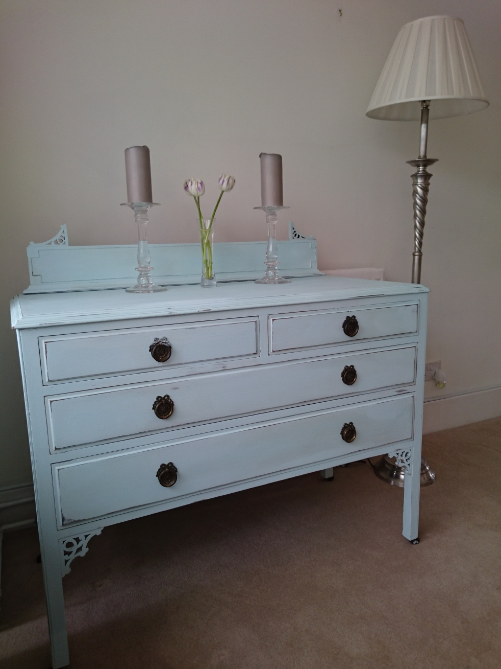 Moonstone drawers