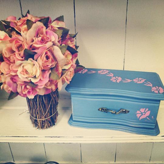 Blue Jewellery Box