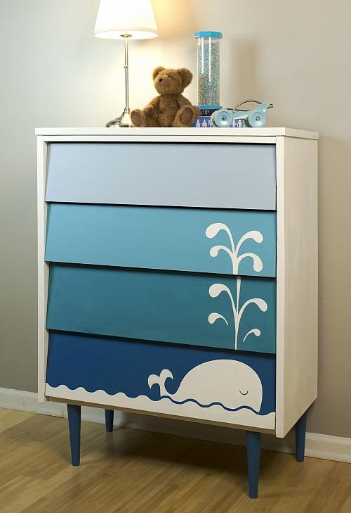drawers-kids-bedroom-whale-stencil