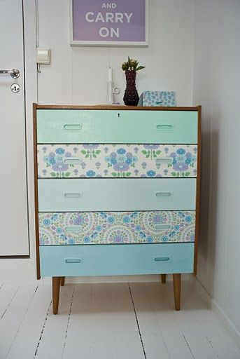 painted-and-papered-scandinavian-chest-of-drawers