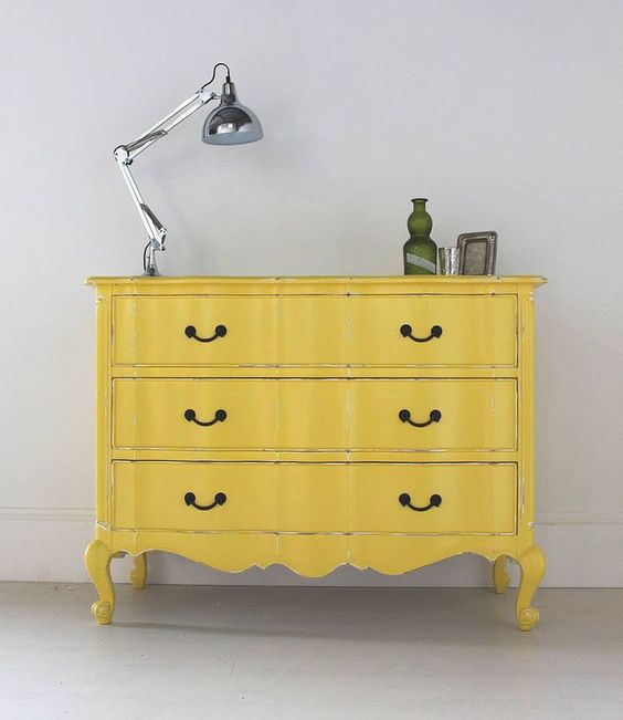 vintage-chest-of-drawers-yellow