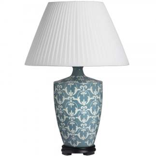 Duck Egg Blue Lamp, £45