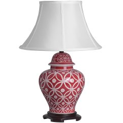 Red Athos Lamp, £70