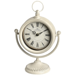 Cream Swinging Mantel Clock, £20