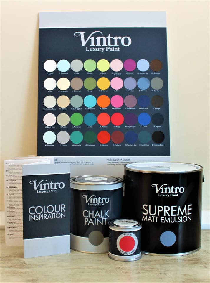 Vintro Chalk Paint Range