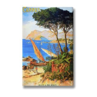 Cannes Postcard Wall Art, £20